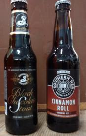 Cinnamon Roll and Black Stout